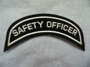 Bericht van Safety Officer